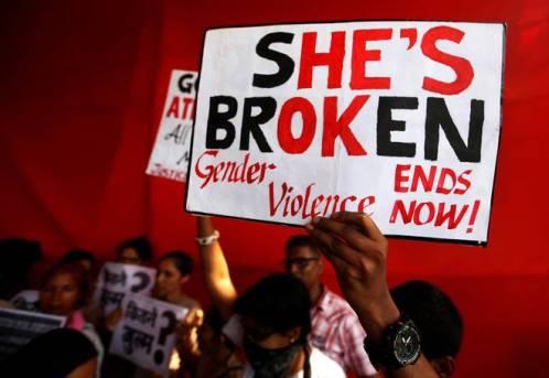 Mumbai anti-rape protest